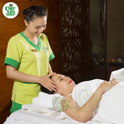 massage chăm sóc da mặt mẹ bầu