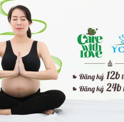 yoga bầu care with love