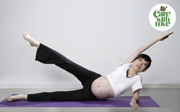 Hướng dẫn tập yoga cho bà bầu 3 tháng cuối