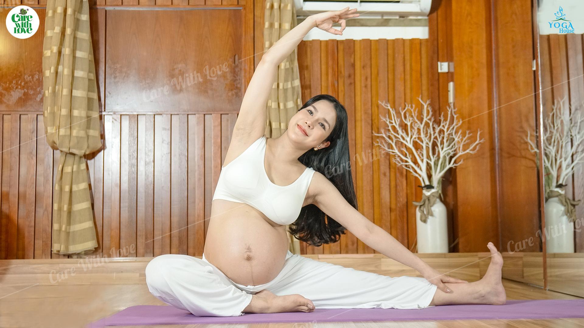 Diệp Lâm Anh bật mí bí quyết giữ dáng, dưỡng thai mạnh khỏe suốt thai kì