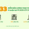 Danh sách 2,833 điểm bán lương thực - thực phẩm tại TP.HCM & TP Thủ Đức (cập nhật ngày 07/7/2021)
