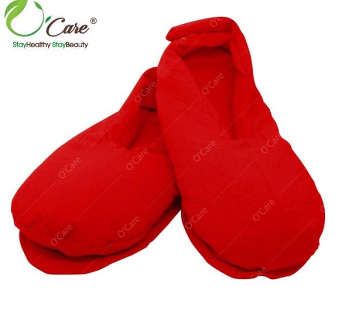 giày thảo mộc màu đỏ